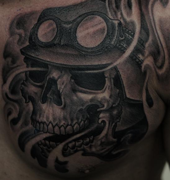 Biker Tattoo Images Amp Designs