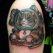 Cat tattoo images designs for Fat cats tattoos
