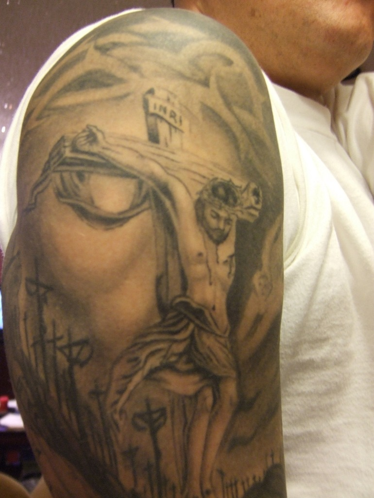 Christian Tattoo Image...