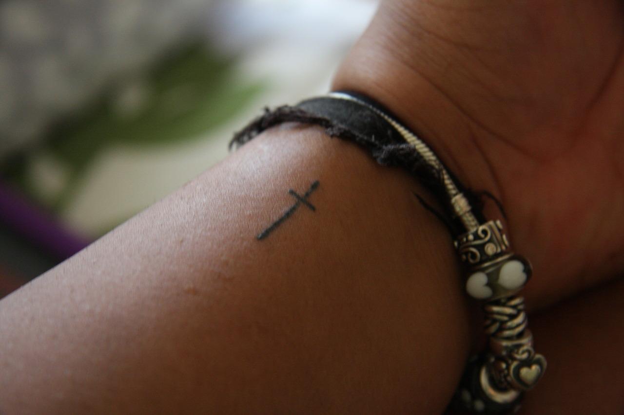 Tiny Christian Tattoos On Wrist