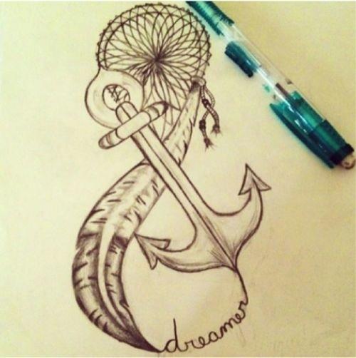 Dream Catcher Tattoo Images amp Designs