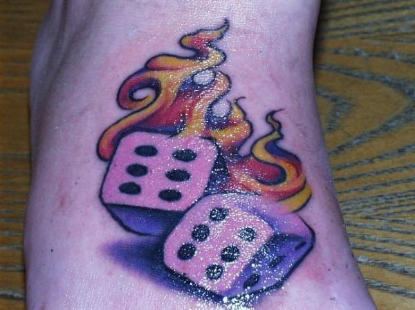 Dice Tattoo Images & Designs