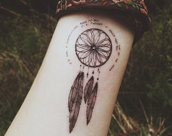 Cool Dreamcatcher Tattoo On Left Forearm