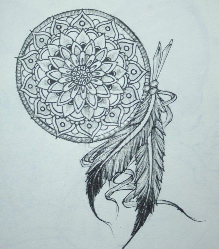Aztec Dream Catcher Tattoo Wwwimgarcadecom Online
