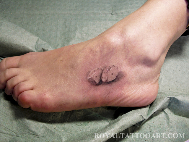 Left Foot Tattoos 66