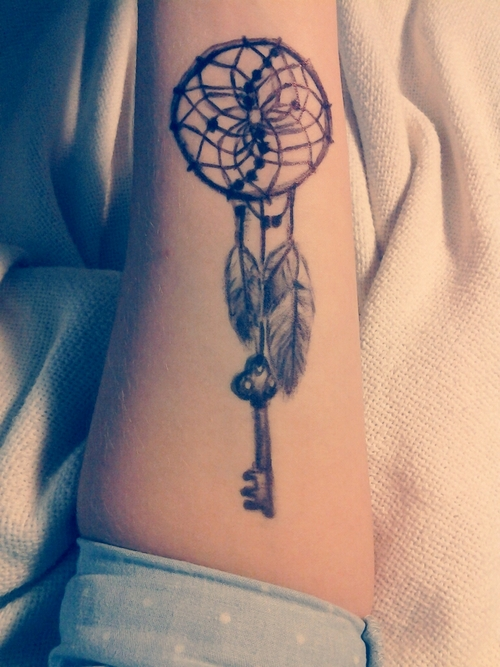 Dreamcatcher Tattoo On Forearm Interesting Dream Catcher Tattoo On Forearm