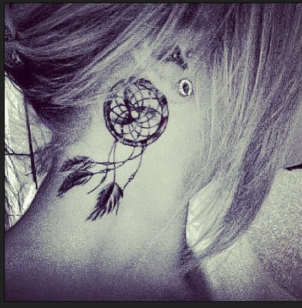 Dream Catcher Tattoo On Side Interesting Dream Catcher Tattoo Images Designs