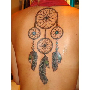 Dream catcher tattoo images designs for Good girl tattoos