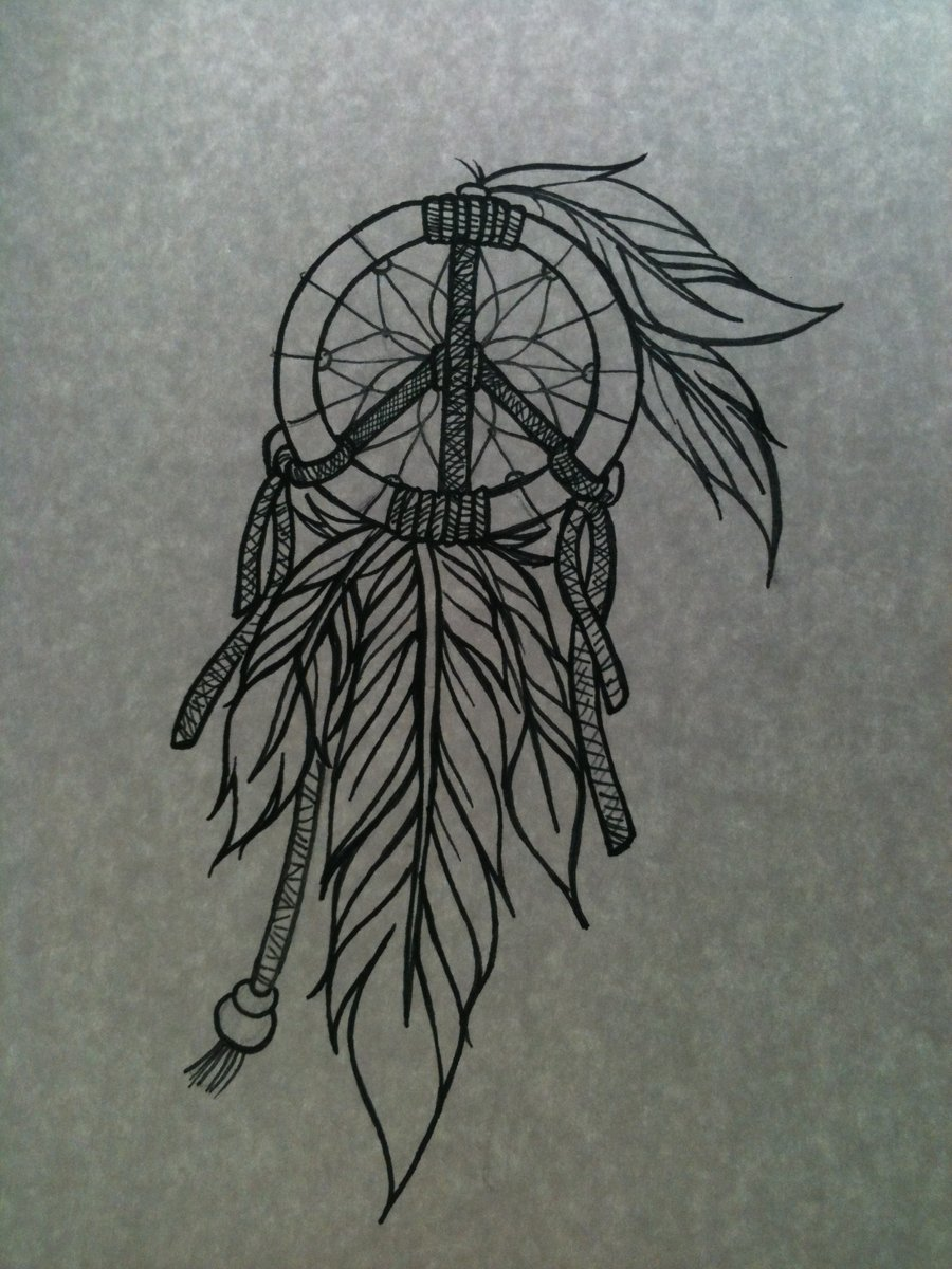 A Design Dream: Dream Catcher Tattoo Images & Designs