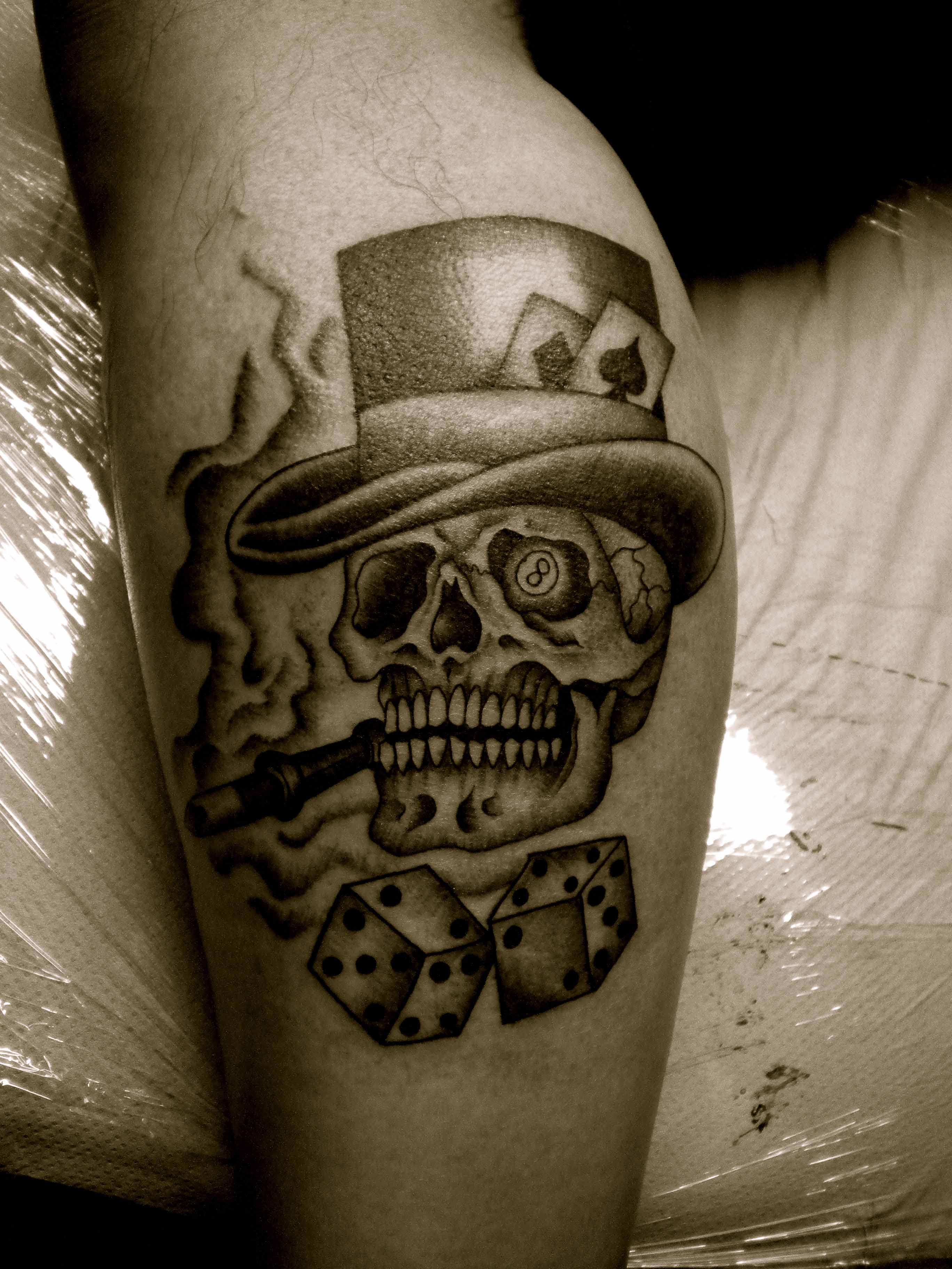Dice Tattoo Images  - 1312 Tattoo