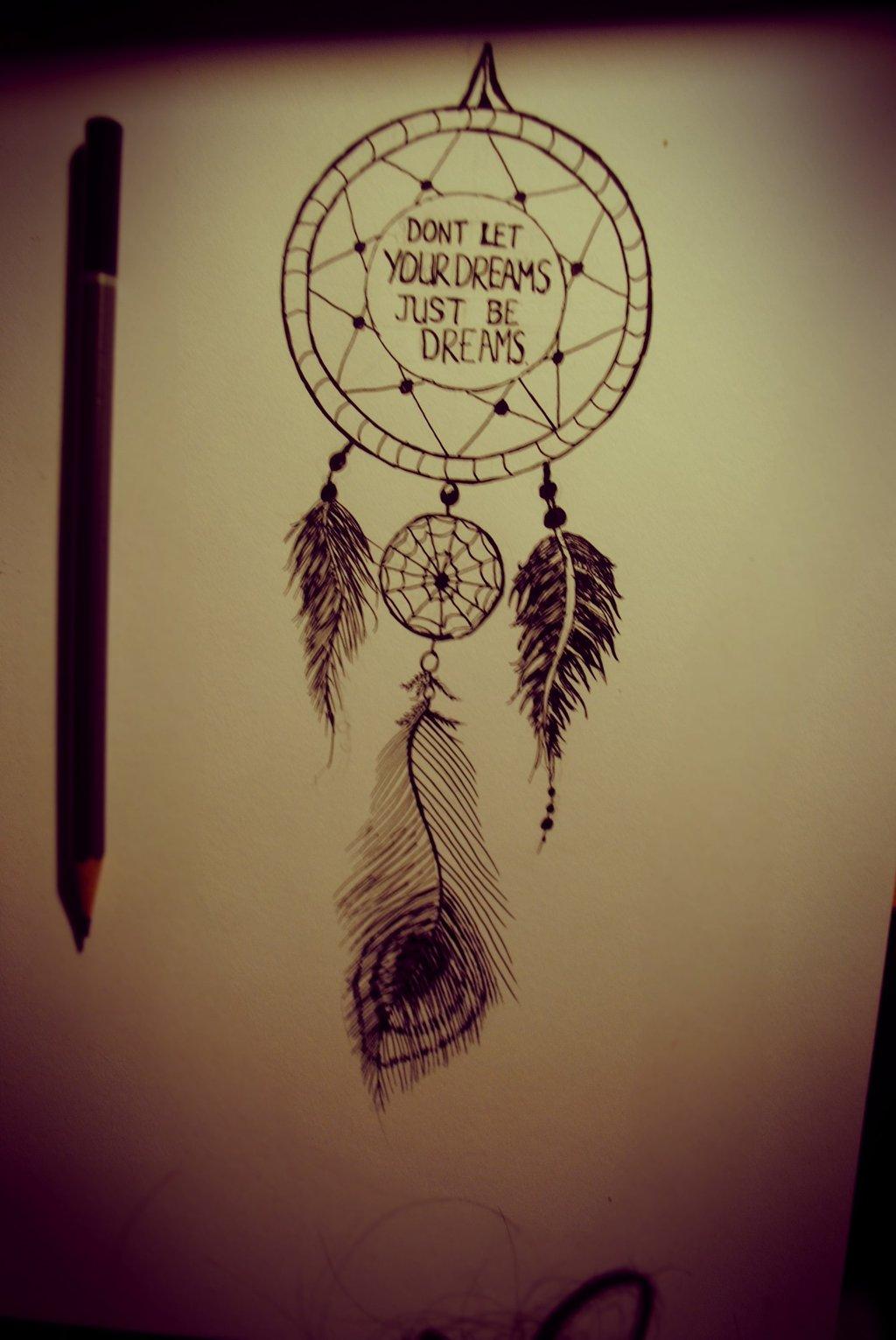 Wonderful Dreamcatcher Tattoo Design For Men