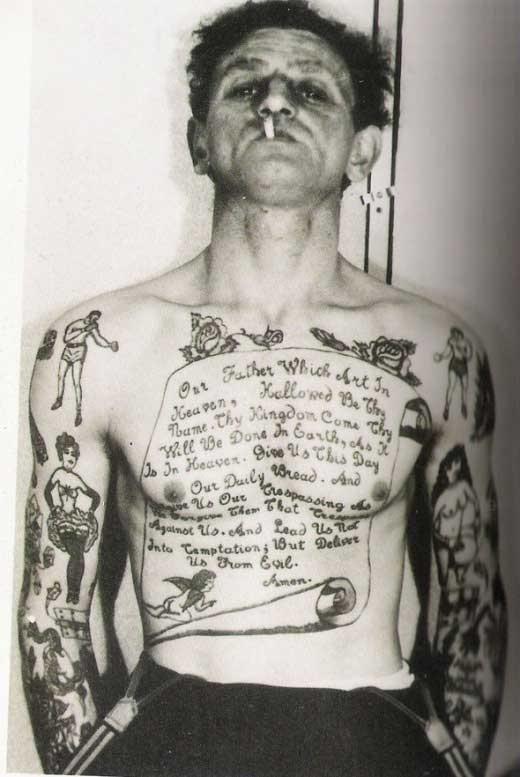 And Birds Vintage Tatt...
