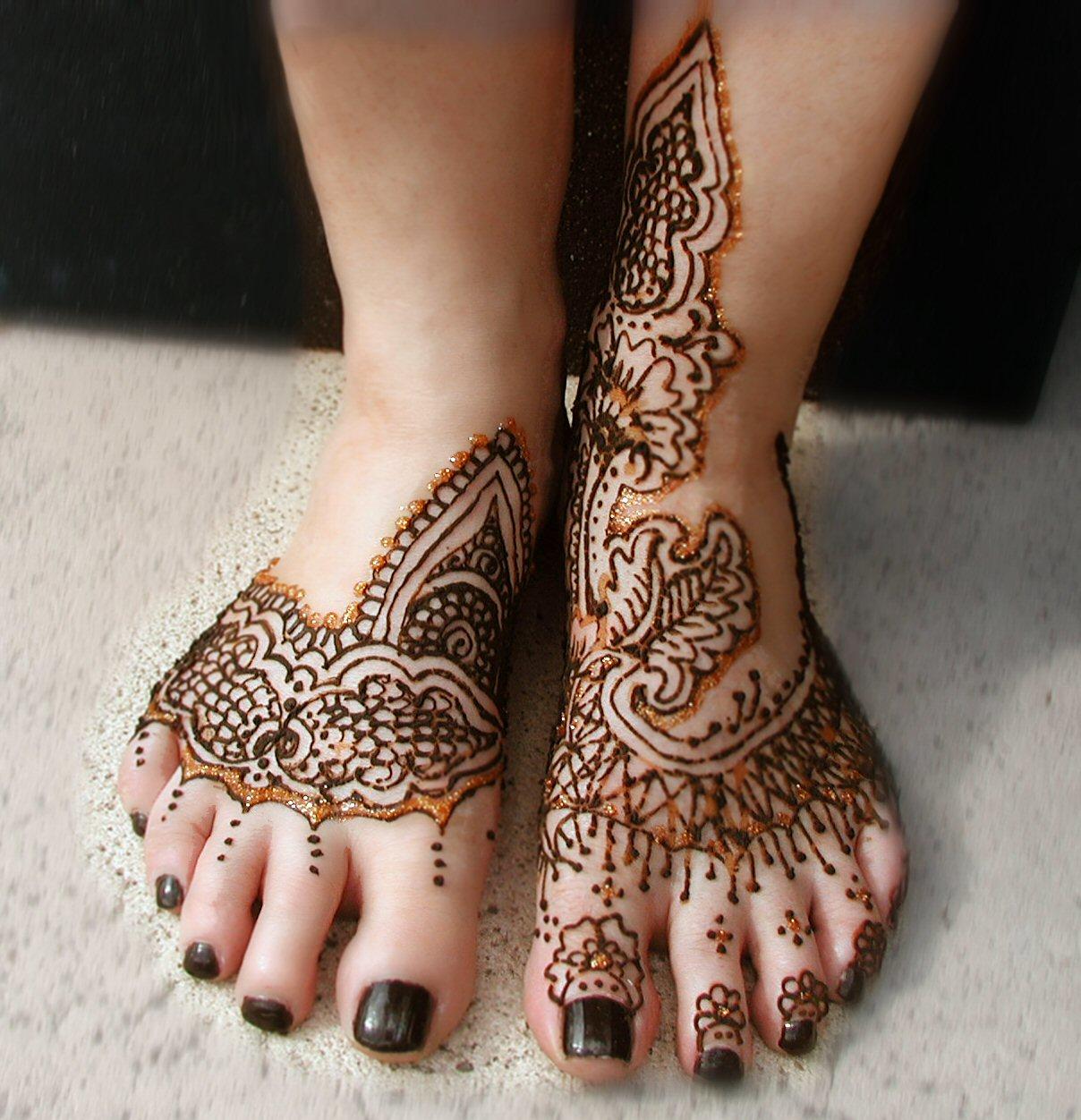 Hawaiian Tattoos Henna Tattoos On Feet
