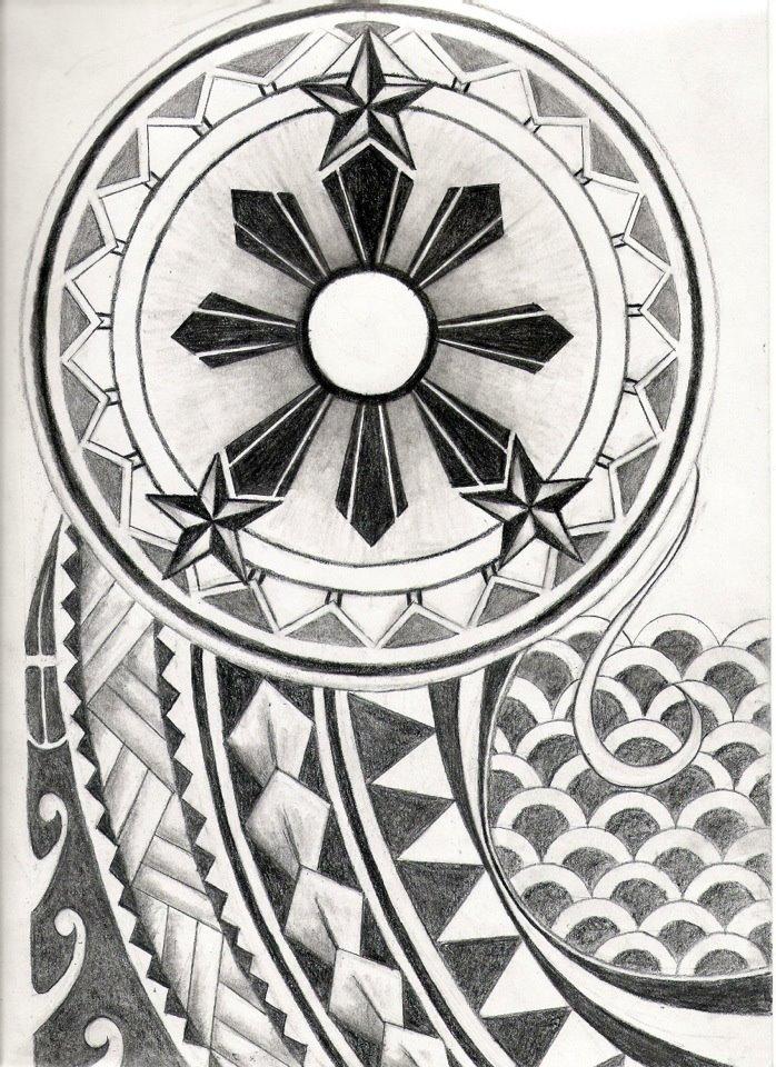 Filipino Tribal Tattoo Design