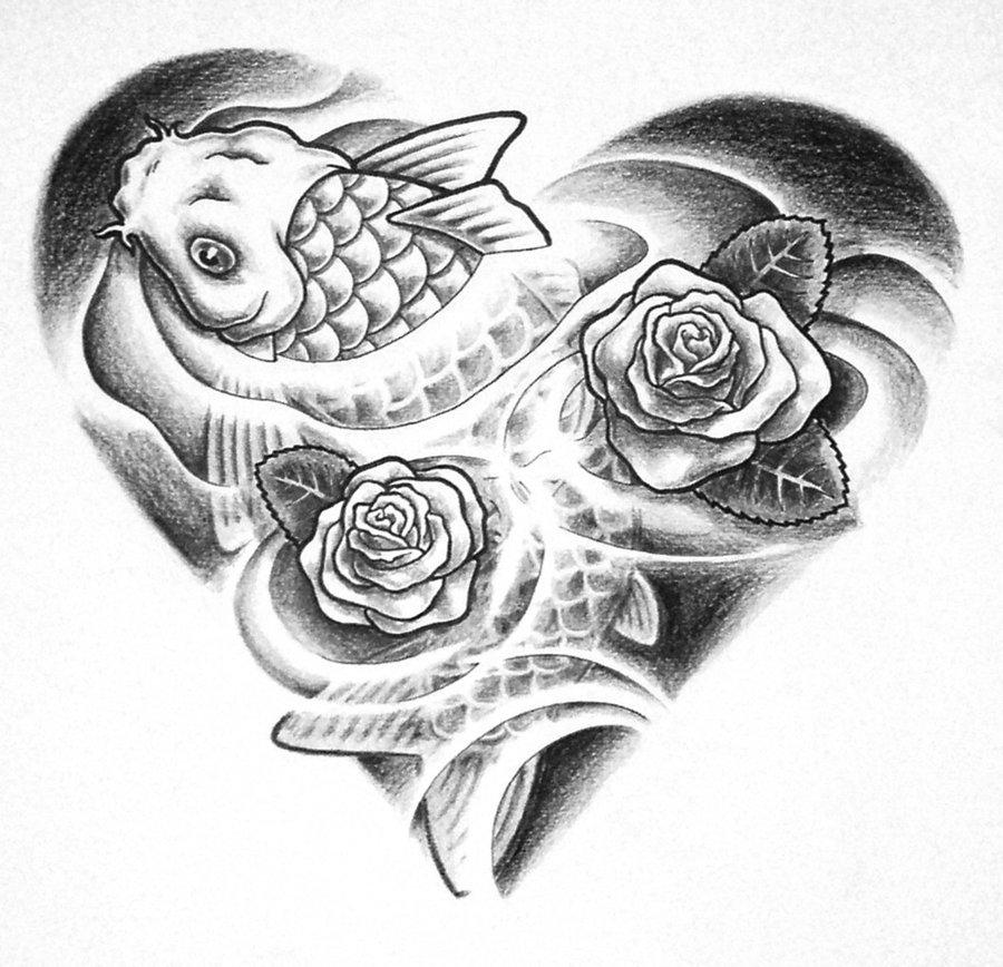 fish tattoo images designs. Black Bedroom Furniture Sets. Home Design Ideas
