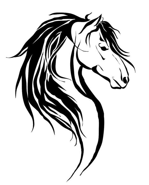 beautiful black tribal horse tattoos design rh tattoostime com tribal horse tattoo designs tribal horse tattoo designs