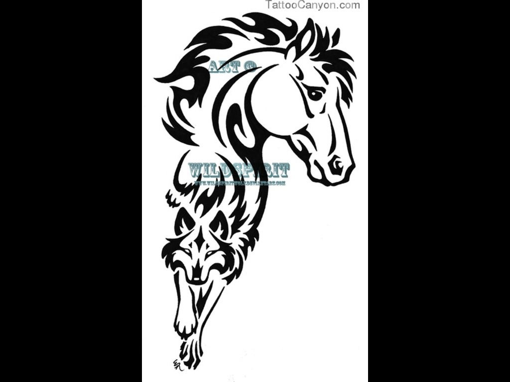 Horse Tattoo Images Designs