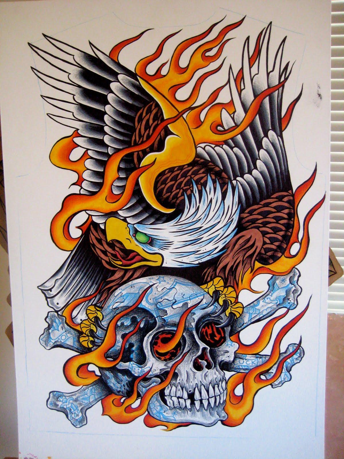 eagle tattoostime search. Black Bedroom Furniture Sets. Home Design Ideas