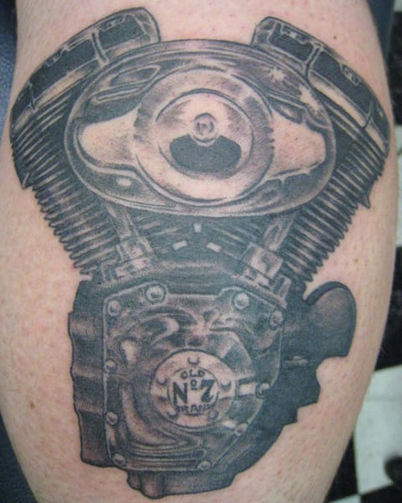 Harley tattoo images designs for Free harley davidson tattoo designs