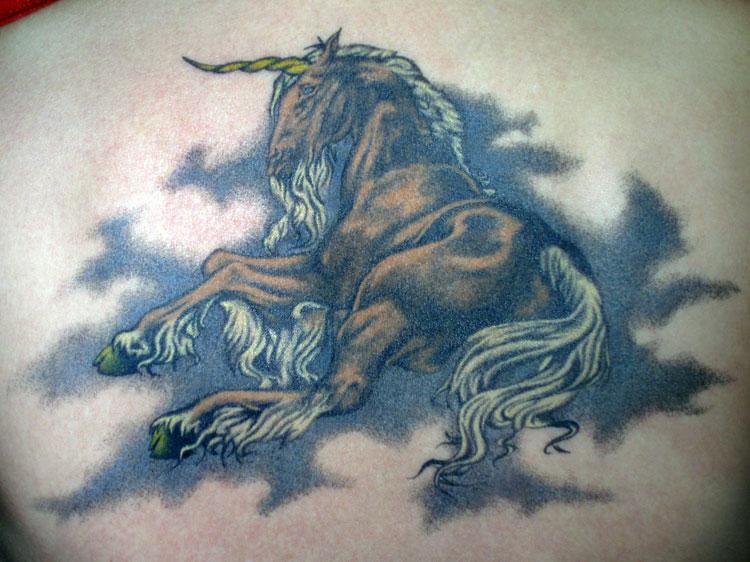 74c62953cc572 Running Horse Tattoo On Back Body For Men