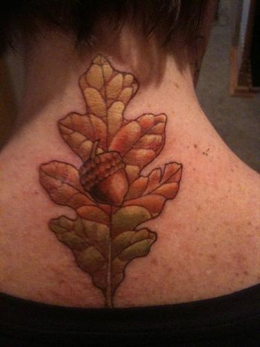leaf tattoos page 3. Black Bedroom Furniture Sets. Home Design Ideas