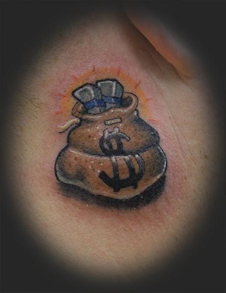 Money Tattoo Images & Designs