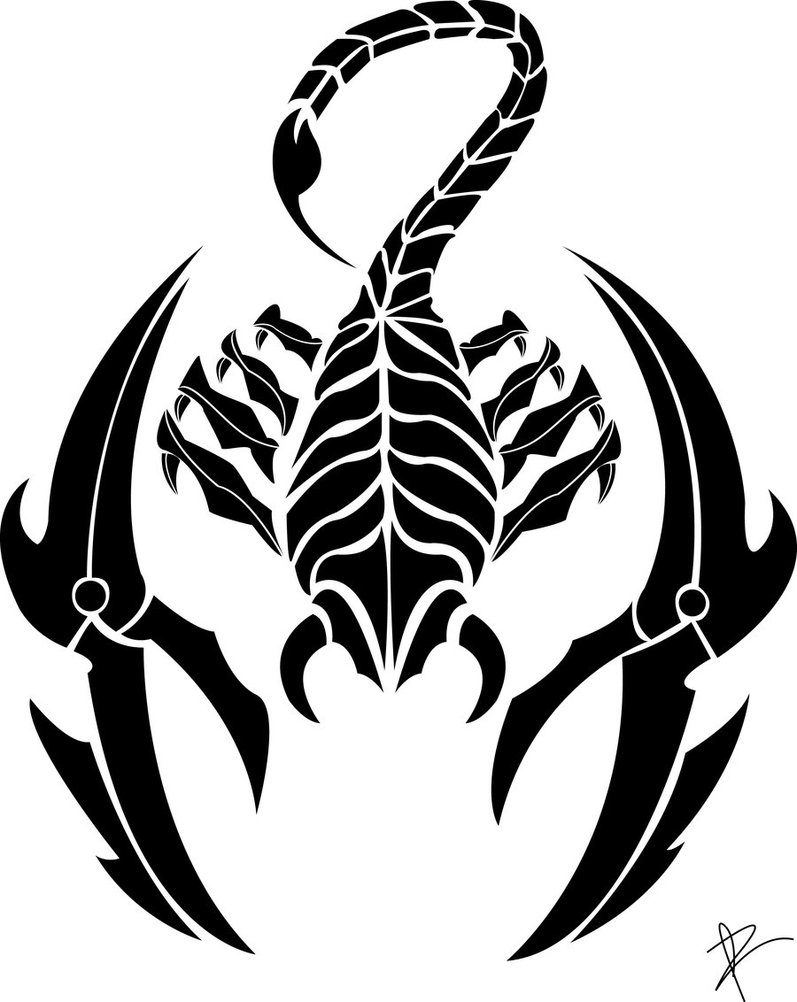 Scorpio Tattoo Images & Designs