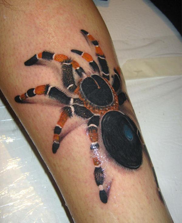 Tarantula Spider Tattoo On sleeve