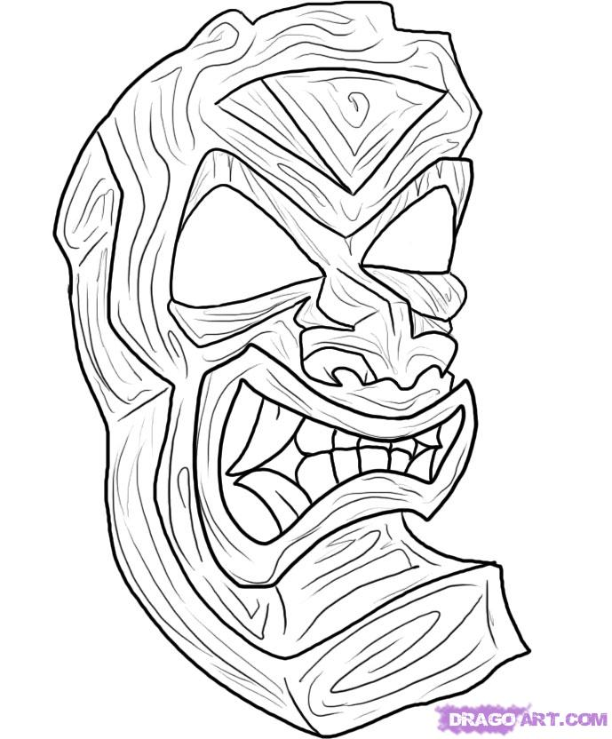 Tiki Tattoo Images Amp Designs