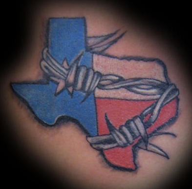 Texas tattoo images designs for Texas bobs tattoos