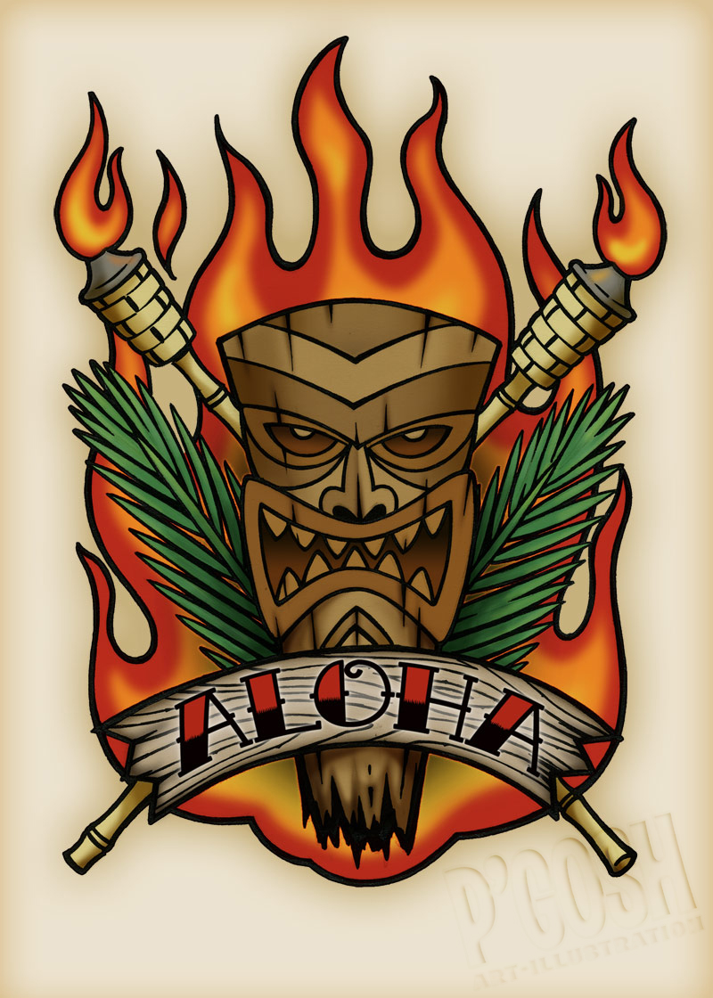Tiki Tattoo Images Amp Designs