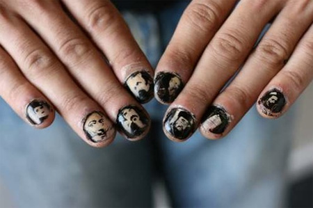Nail Tattoo Images Designs