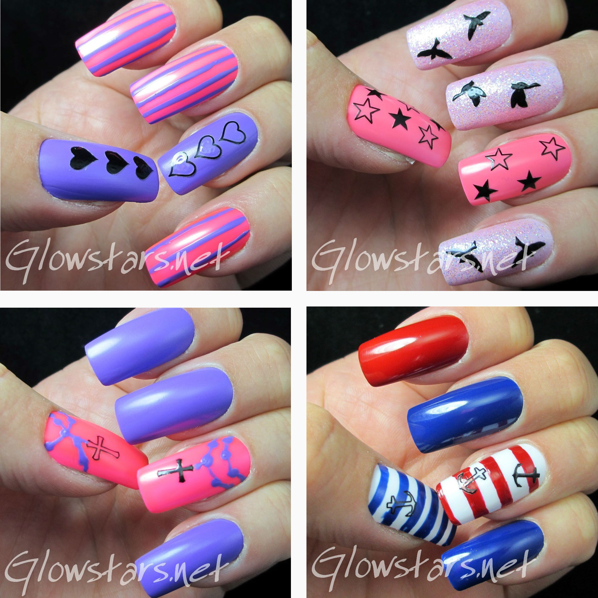 Nail Tattoo Images & Designs