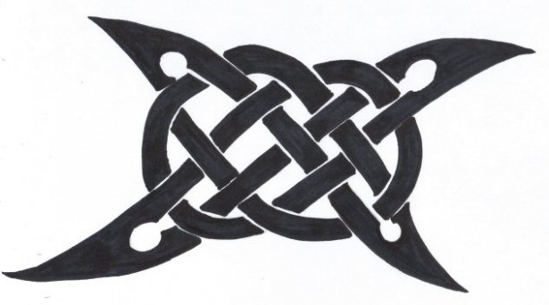 Celtic Symbol Strength Tattoo Design