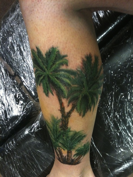 Dog And Palm Tree Tattoo,Responsive Mobile Footer Design