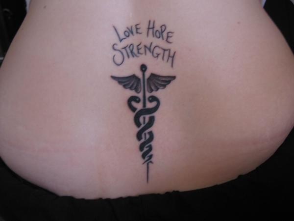 Strength Tattoo Images & Designs Japanese Symbol For Faith Hope And Love