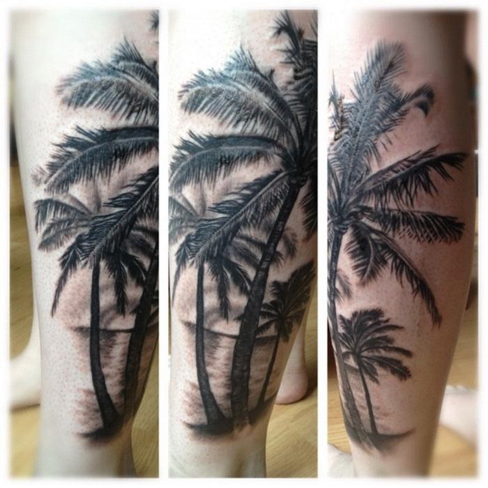 palm tree tattoo images designs. Black Bedroom Furniture Sets. Home Design Ideas