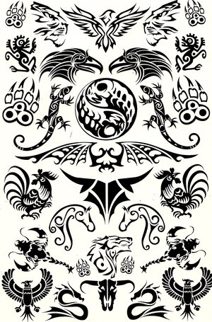 Classic Animal Tattoos Designs