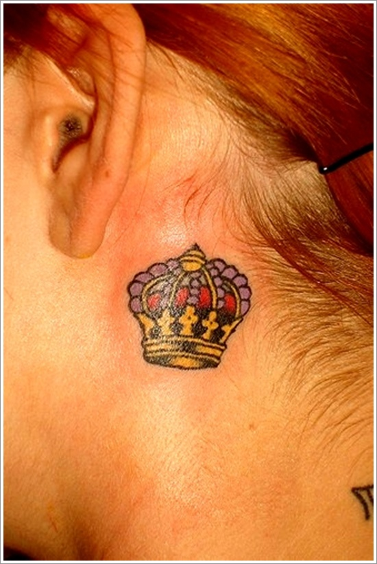 Crown Tattoos Page 21