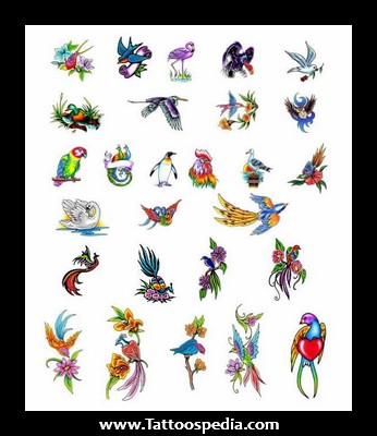 Birds Tattoo Images Designs