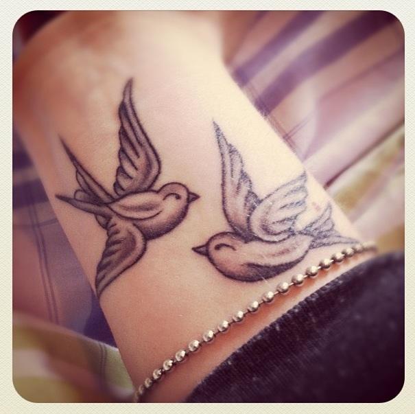 birds tattoo images designs. Black Bedroom Furniture Sets. Home Design Ideas