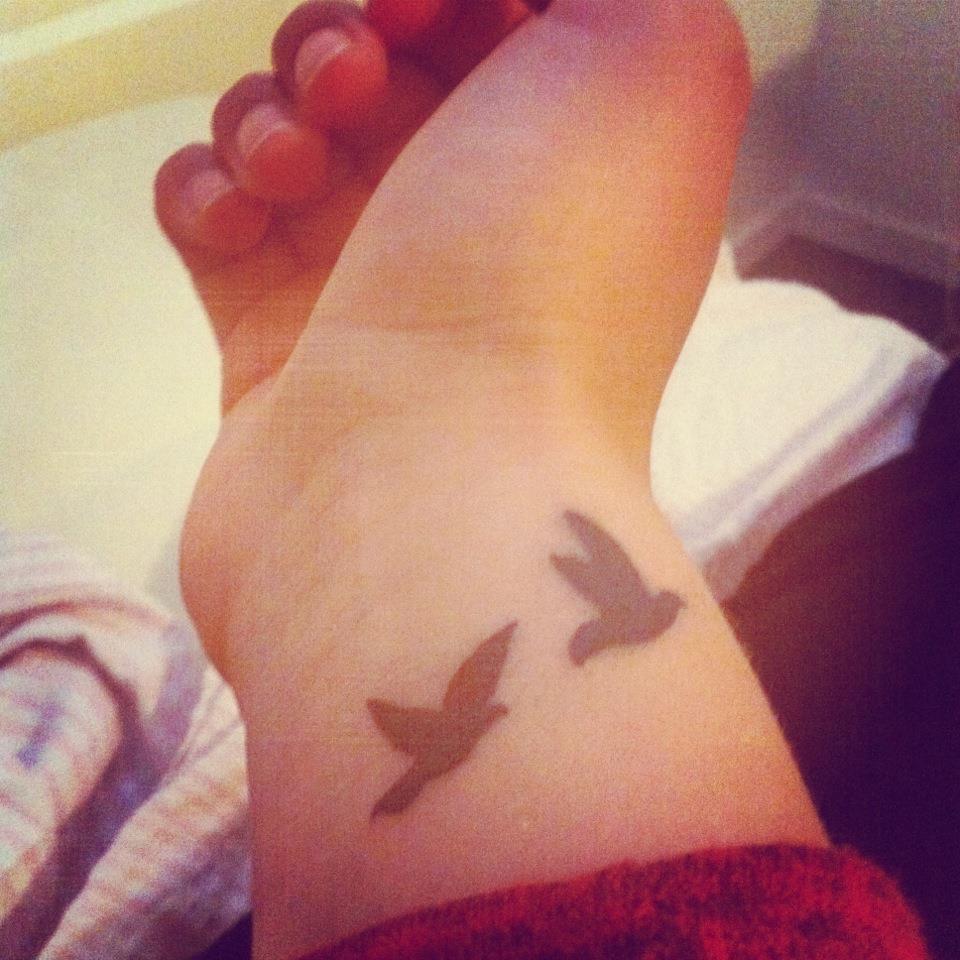 Birds tattoo images designs for Bird tattoos on wrist