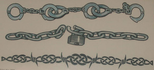 Chain Link Tattoo: Chain Tattoo Images & Designs