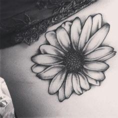 Amazing black and white flower tattoo mightylinksfo