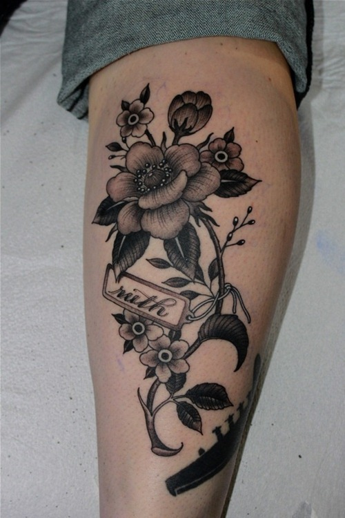 Black and White Tattoo Images & Designs