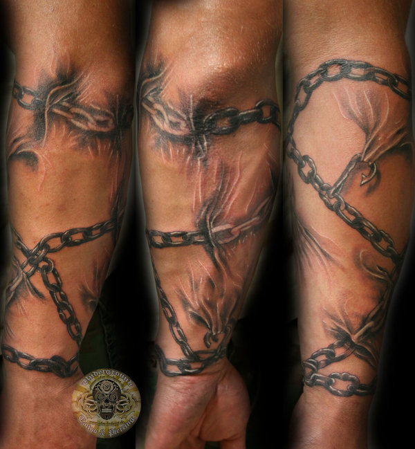 Chain Tattoo Images