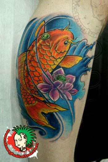 Carp Fish Tattoo Images & Designs