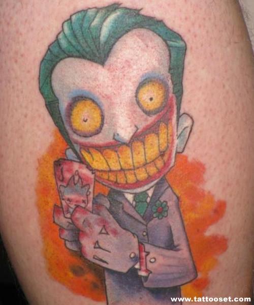 Cartoon tattoo images designs for Small cartoon tattoo designs