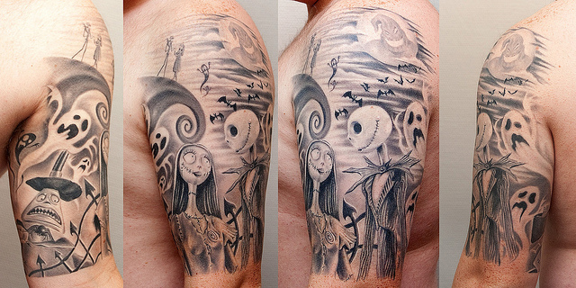 Christmas tattoo images designs