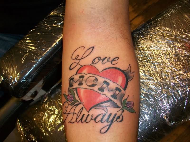 Mom tattoo images designs for Love always tattoo